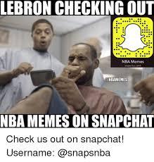 Checking Out Meme - lebron checking out nba memes snaps nba 1648 nbamemes mba memes on