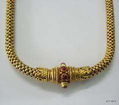 antique gold necklace images 20k gold chain necklace choker vintage by tribalsilver on zibbet jpg