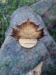 gift for father maple leaf mobile phone holder gadget device