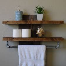 Wood Shelf Pictures by Best 25 Wall Shelf With Hooks Ideas On Pinterest Bathroom Towel