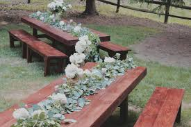 wedding table rentals farmhouse table rentals for weddings showers or any special occasion