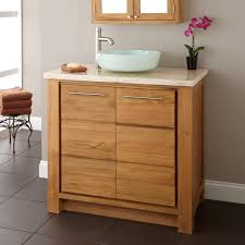 Bathroom Vanities With Vessel Sinks Understated Vessel Sink Vanity Signature Hardware