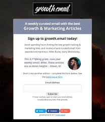 growth email growth marketing newsletter