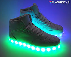 light up jump flashkicks jump premium led shoes bright light up sneakers high