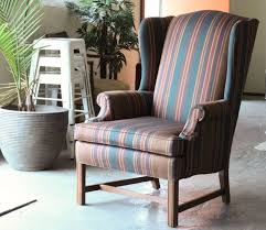 Outdoor Wingback Chair How To De Upholster A Wingback Chair Modhomeec