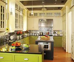 Modern Green Kitchen Cabinets Kitchen Modern Green Kitchen Painted Cabinet 20 Kitchen Ideas