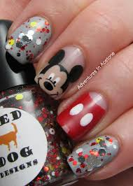 mickey and minnie mouse nail art images nail art designs