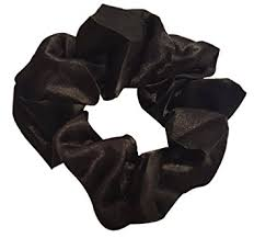 hair scrunchie satin hair scrunchies 4 pack black beauty