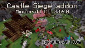 siege minecraft castle siege addon for minecraft pe 0 16 0