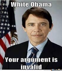 White Meme - white obama by go2hellandfuckthe meme center