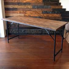wood top work table folding wood top work table for the home pinterest woods