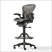 Adjustable Drafting Chair Hu Gross Herman Miller Aeron Deluxe Work Stool Graphite