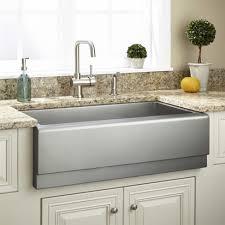 Kitchen Sink With Faucet Set Kitchen Elegant Stainless Steel Farmhouse Kitchen Sinks Vigo All