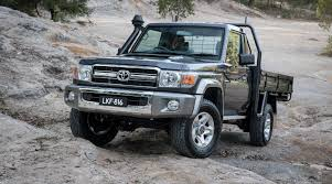 2017 toyota landcruiser 70 series australian updates confirmed