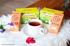 Teh Bubuk paket teh upet 2 box teh celup isi 25 dan 2 pack teh bubuk 35gr