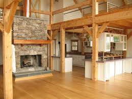 modern natural large pole barn interior ideas that has large