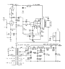 Transformer Coupled Transistor Amplifier Schematic Construction 25w Single Ended Class A Tube Amp Circuit Diagram