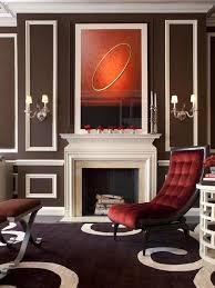 Hgtv Designer Portfolio Living Rooms - love this white and chocolate palette with lush velvet slipper