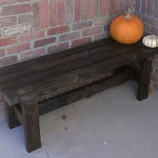 build a bench for 15 yards gardens and porch