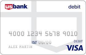 Bank Of America Design Cards U S Bank Visa Debit Card Atm And Debit Cards U S Bank