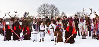 winter holidays and ancient paganism romania dacia