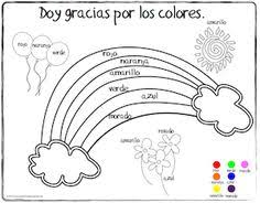 printable coloring sheet spanish for kids printout of fruit in