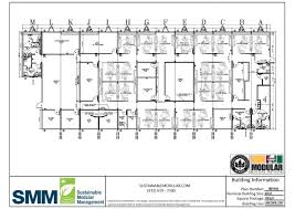 Mental Hospital Floor Plan by Sample Floor Plans Sustainable Modular Management Inc