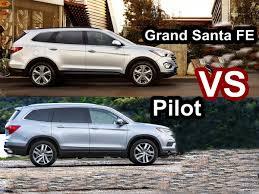 compare honda pilot and ford explorer 2016 honda pilot vs 2016 hyundai grand santa fe design