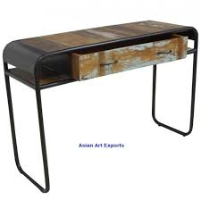 Retro Console Table Industrial Console Table