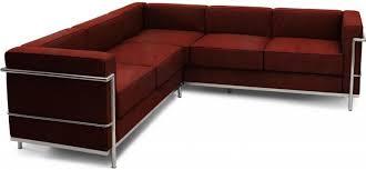 canap lc2 le corbusier canapé d angle cuir cognac inspiré lc2 le corbusier lestendances fr