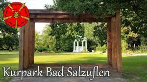 Kurpark Klinik Bad Nauheim Kurpark Bad Salzuflen Www Lipperland De Youtube