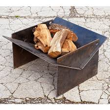 the fire pit tecton steel collapsible fire pit by magma firepits