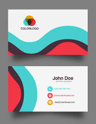 flat business card template free business cards