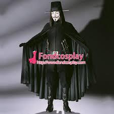 v for vendetta costume v for vendetta ugo weaving v cape clown costume tailor made