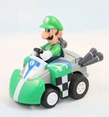 1set cute super mario brothers kart game bowser luigi waluigi
