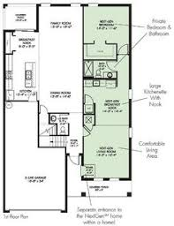 Next Gen Homes Floor Plans Floor Plan For Multi Generational Living In One House House