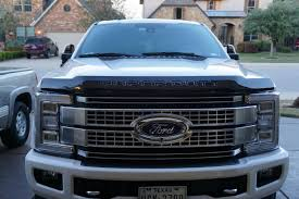 Ford F350 Repo Truck - 2017 super duty ford deflector installed ford truck enthusiasts