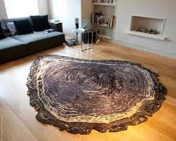 Contemporary Modern Area Rugs Tree Trunk Silk Contemporary Modern Area Rugs By Sonya Winner