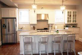 White Cabinets Granite Countertops by Awesome White Cabinets Granite Countertops Kitchen 41 White