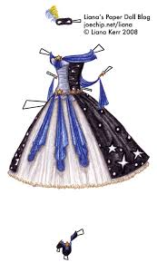 Blue Black Halloween Costumes Halloween Masquerade Costume Series 6 Cursed Sisters 5