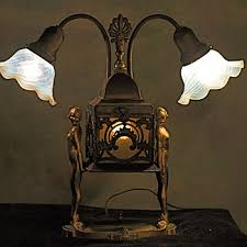 Antique Table Lamps Antique And Vintage Table Lamps Collectors Weekly