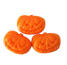 24 edible halloween pumpkin sugarettes cake cupcake topper