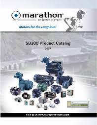 marathon catalogue sb300 moteur by spécialités industrielles