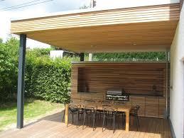 wohnideen minimalistischem pergola programme création d une terrasse couverte avec cuisine