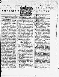 nature and scope eighteenth century journals adam matthew digital