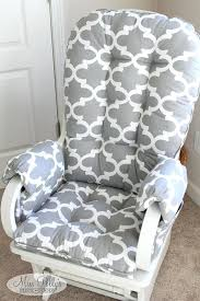 Rocking Chairs For Baby Nursery Rocking Chair Pads For Baby Nursery With Custom Cushions Ideas 10