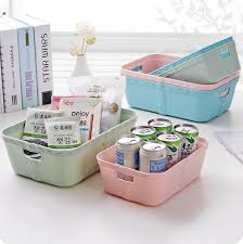 Storage Boxes For Bathroom Plain Plastic Imitation Rattan Storage Box Desktop Snacks
