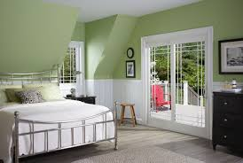 green and white master bedroom design idea featured beautiful