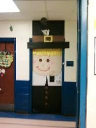 these thanksgiving pilgrim theme classroom doors are
