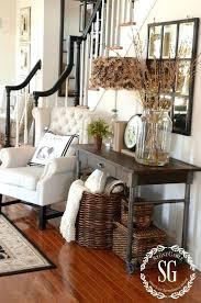 foyer decor cool pinterest farmhouse decor collection best foyer decorating
